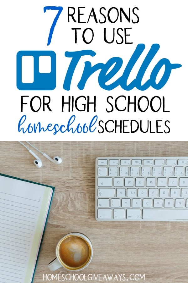 Looking to ease the overwhelm that comes with daily high school scheduling and planning? Then check out why Trello might be a great fit for your homeschool.